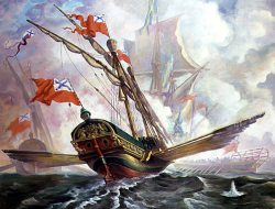 Наиболее значительные морские сражения