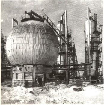использование цистерн для хранения нефти и газа: